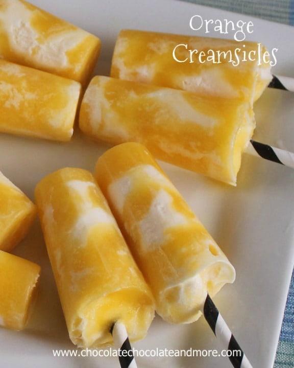 Orange Creamsicles by chocolatechocolateandmore.com