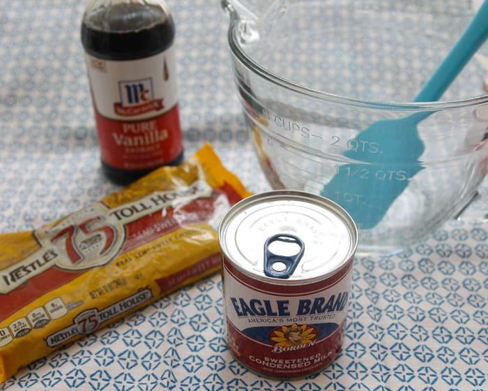 Fudge Recipe Chocolate Chips Evaporated Milk