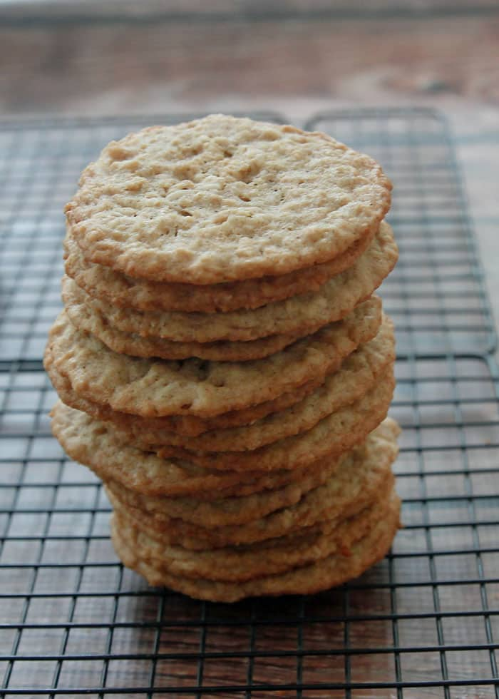 You won't be able to stop with just one of these Chewy Oatmeal Coconut Cookies!