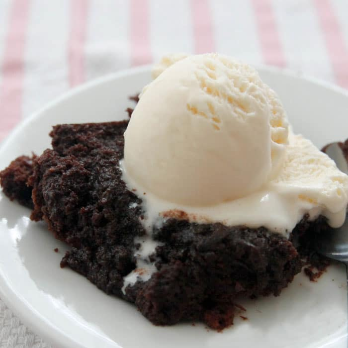 Chocolate Brownie Pudding - Chocolate Chocolate and More!