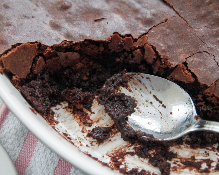 Chocolate Brownie Pudding