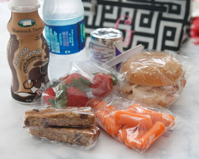 What we pack for lunch