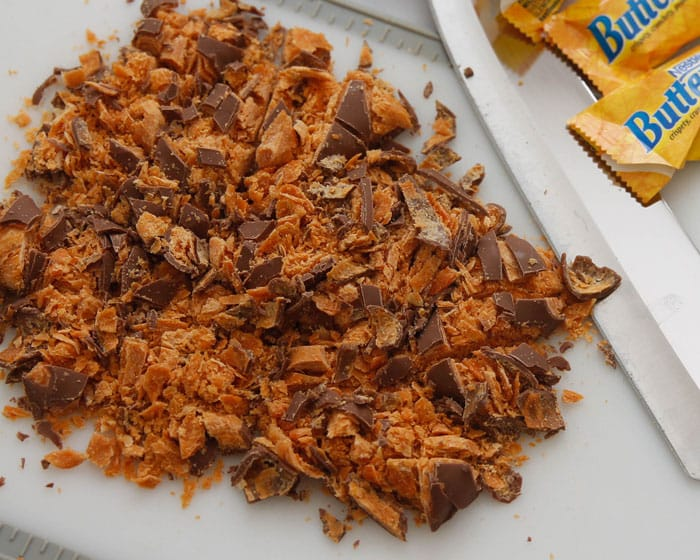 Chopped Butterfinger Candy