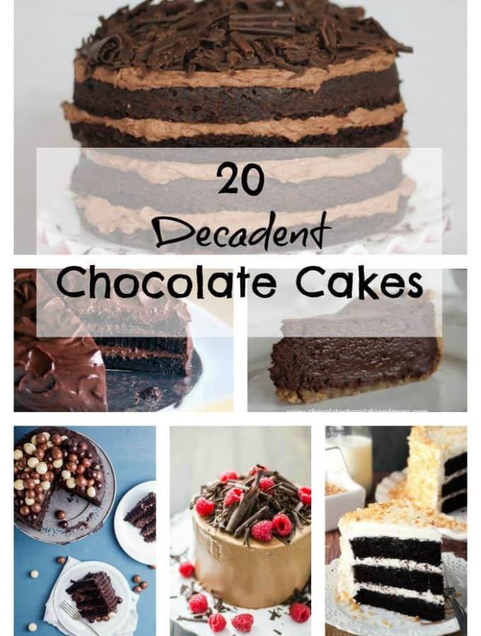 20 Decadent Chocolate Cakes