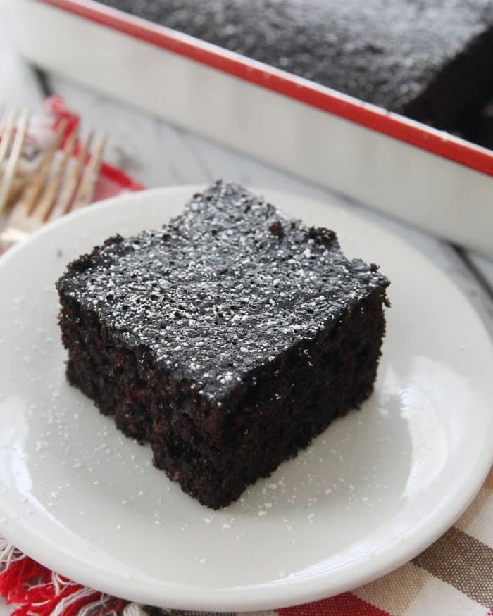 Chocolate Mayonnaise Cake-a moist crumb cake with a rich chocolate ...