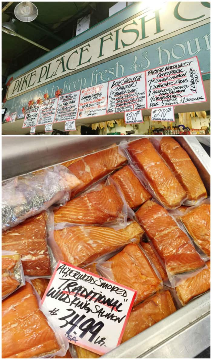 "Pike Place Fish Market is known for ""tossing fish"" as well as some of the best seafood in the market!"