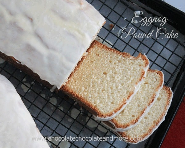 Eggnog Pound Cake by Chocolate, Chocolate and More!