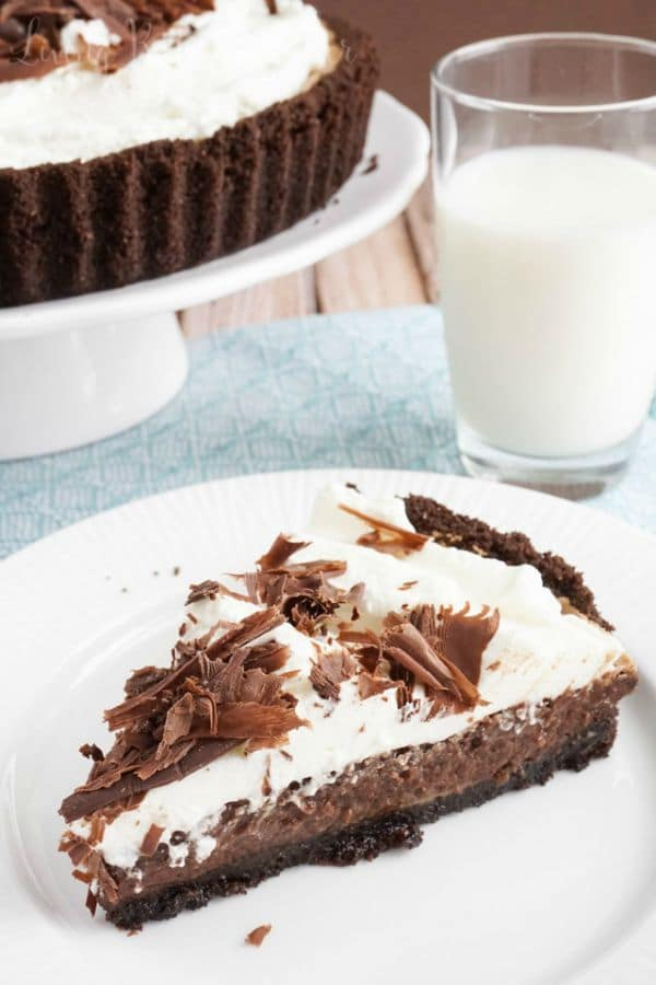 Mississippi Mud Pie by sugarandsoul.co