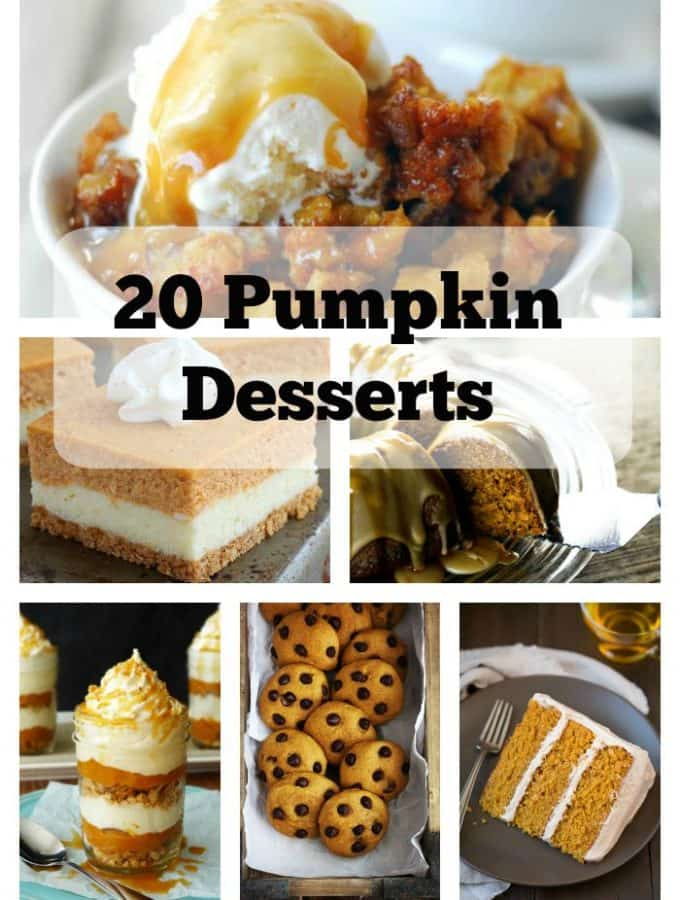 20 Pumpkin Treats for Fall!