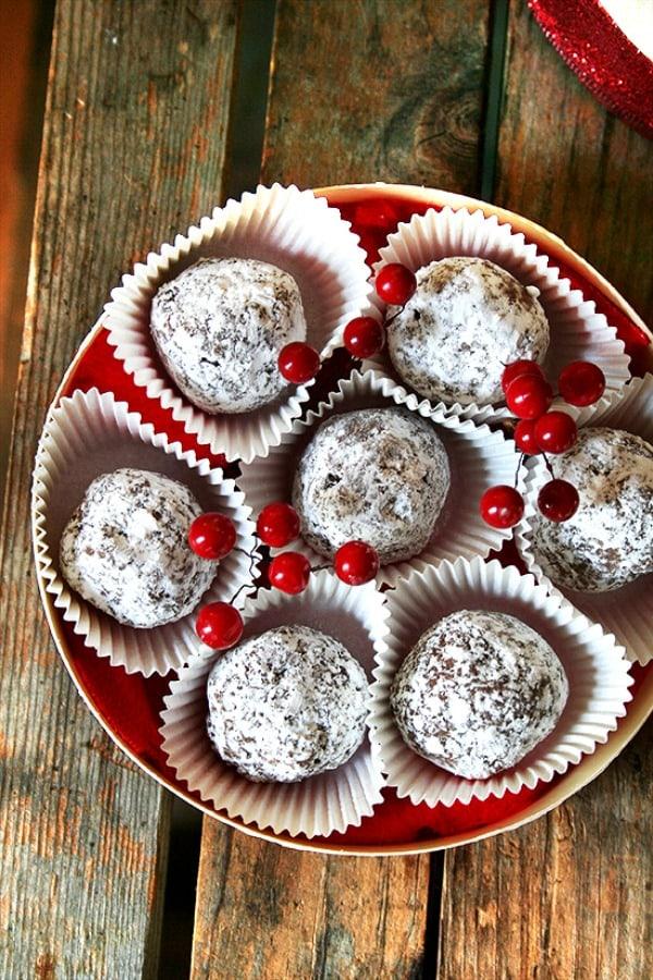 Rum Balls by Alexandra's Kitchen