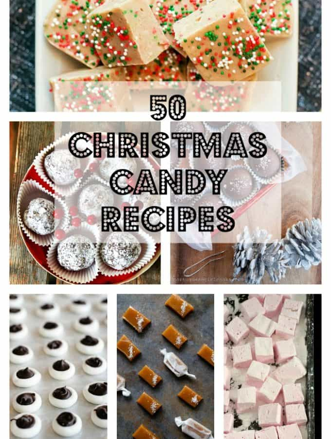50 Christmas Candy Recipes