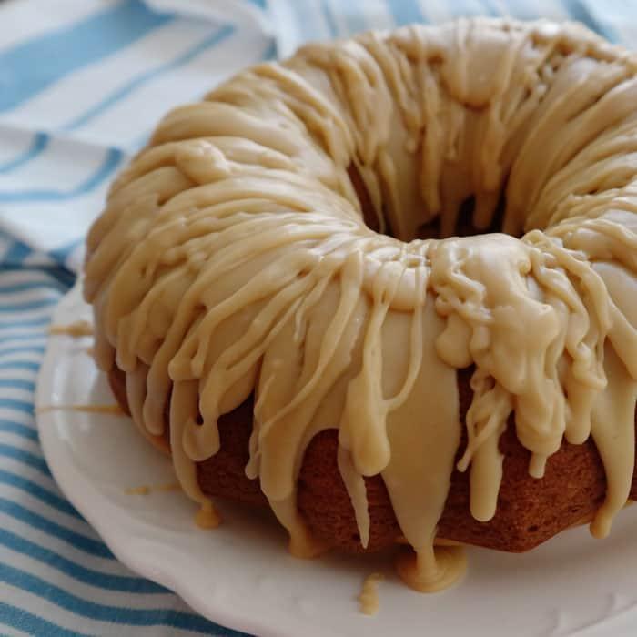 Homemade Caramel Glaze For Pound Cake