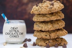 Chewy Oatmeal Chocolate Chip Cookies from Or Whatever You Do