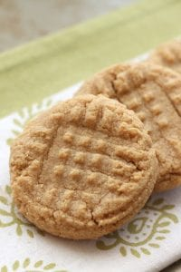 Peanut butter cookies 3 ingredients 4 - tall