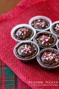 peppermint brownie by nutmeg nanny