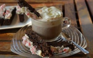 Chocolate Peppermint Biscotti Dunk 3