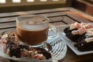 Coffee and Chocolate Peppermint Biscotti