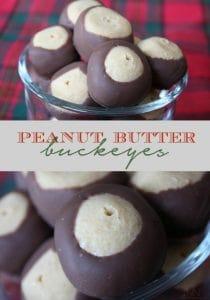 peanut butter buckeyes by nutmeg nanny