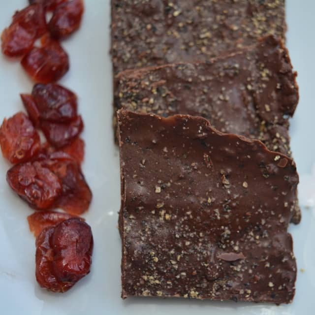 Kampot Pepper Chocolate Bark
