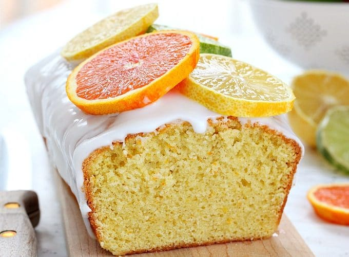 Citrus quick bread