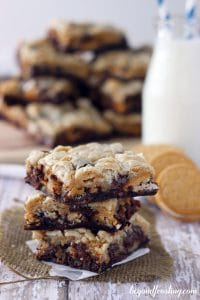 Marshmallow Oreo Brookies