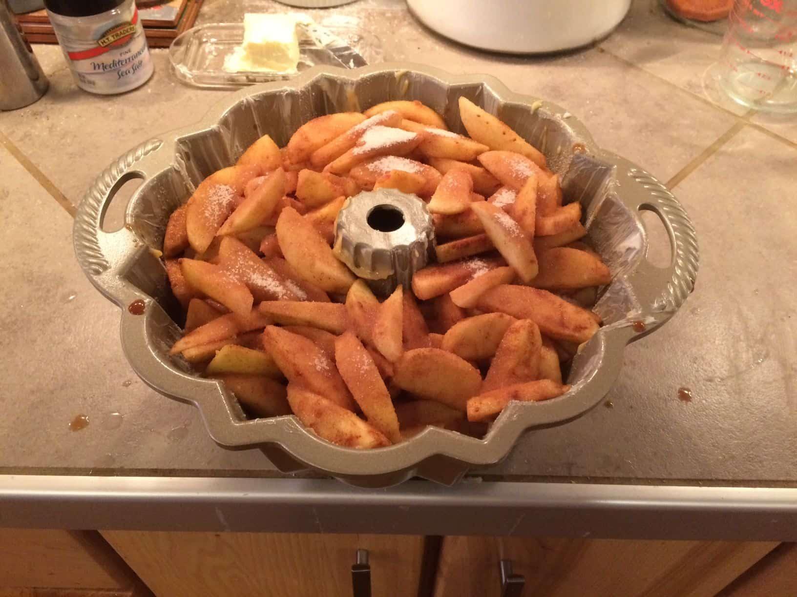 Apple Cake 1