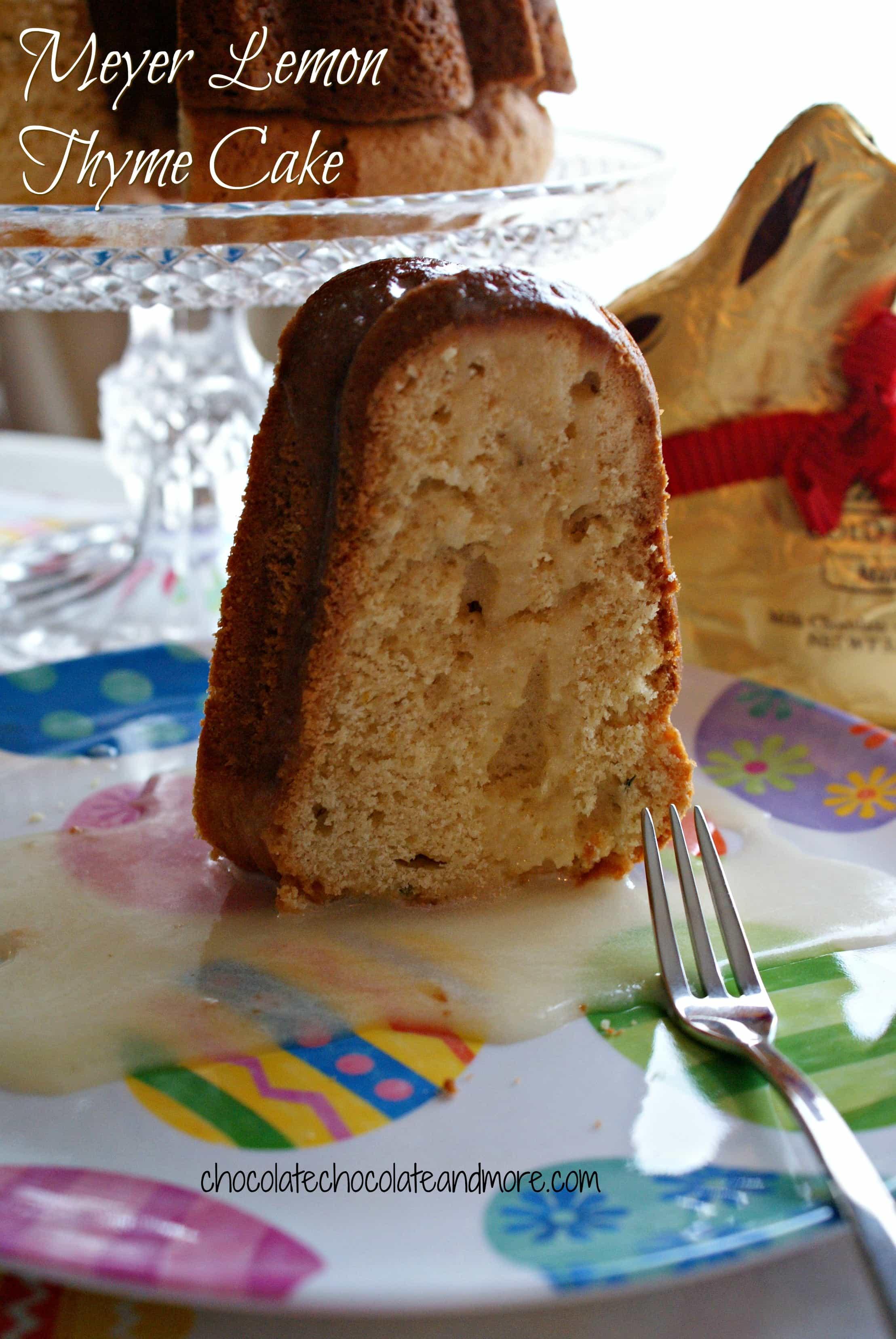 Meyer Lemon Thyme Cake