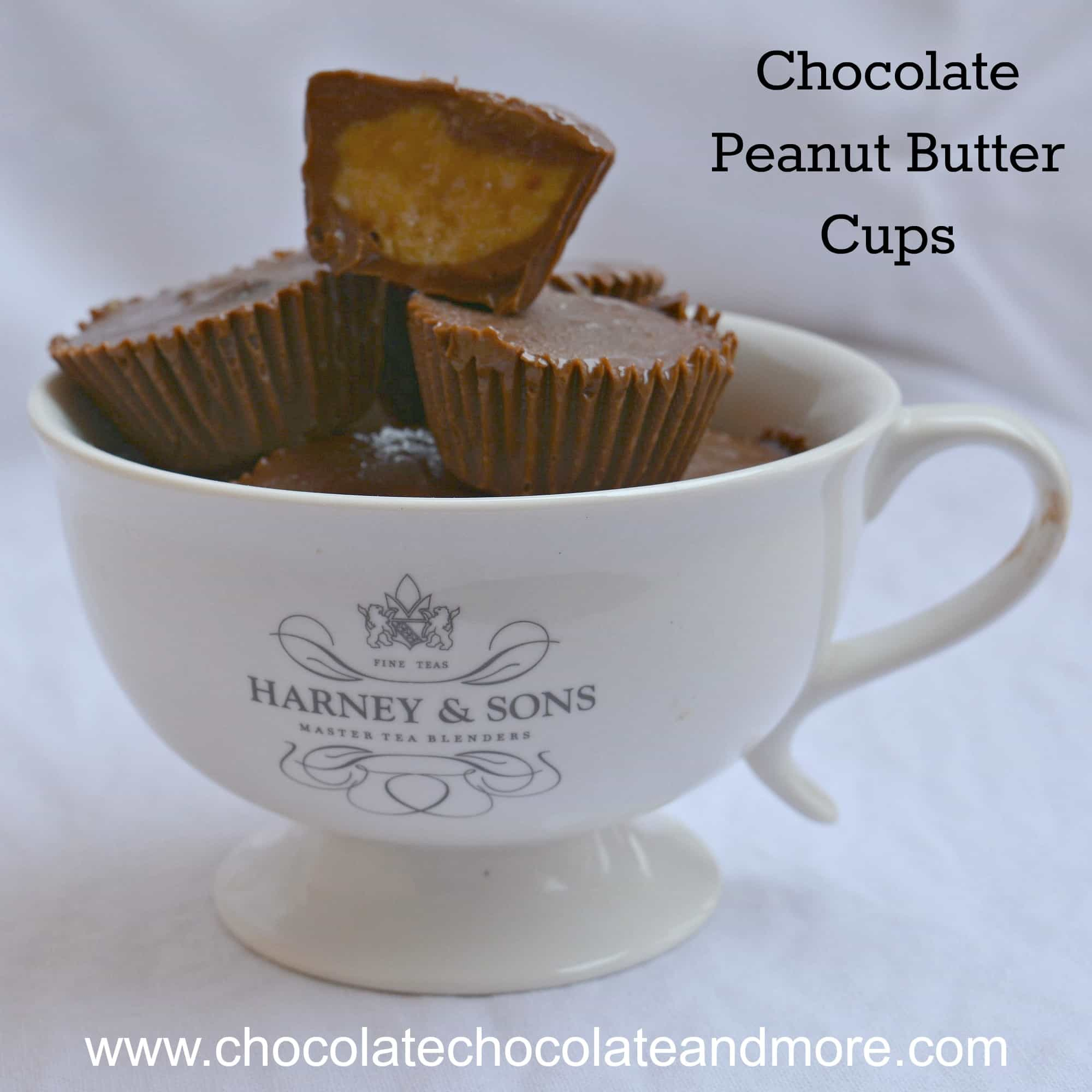 Peanut Butter Cups Tea Cup Square