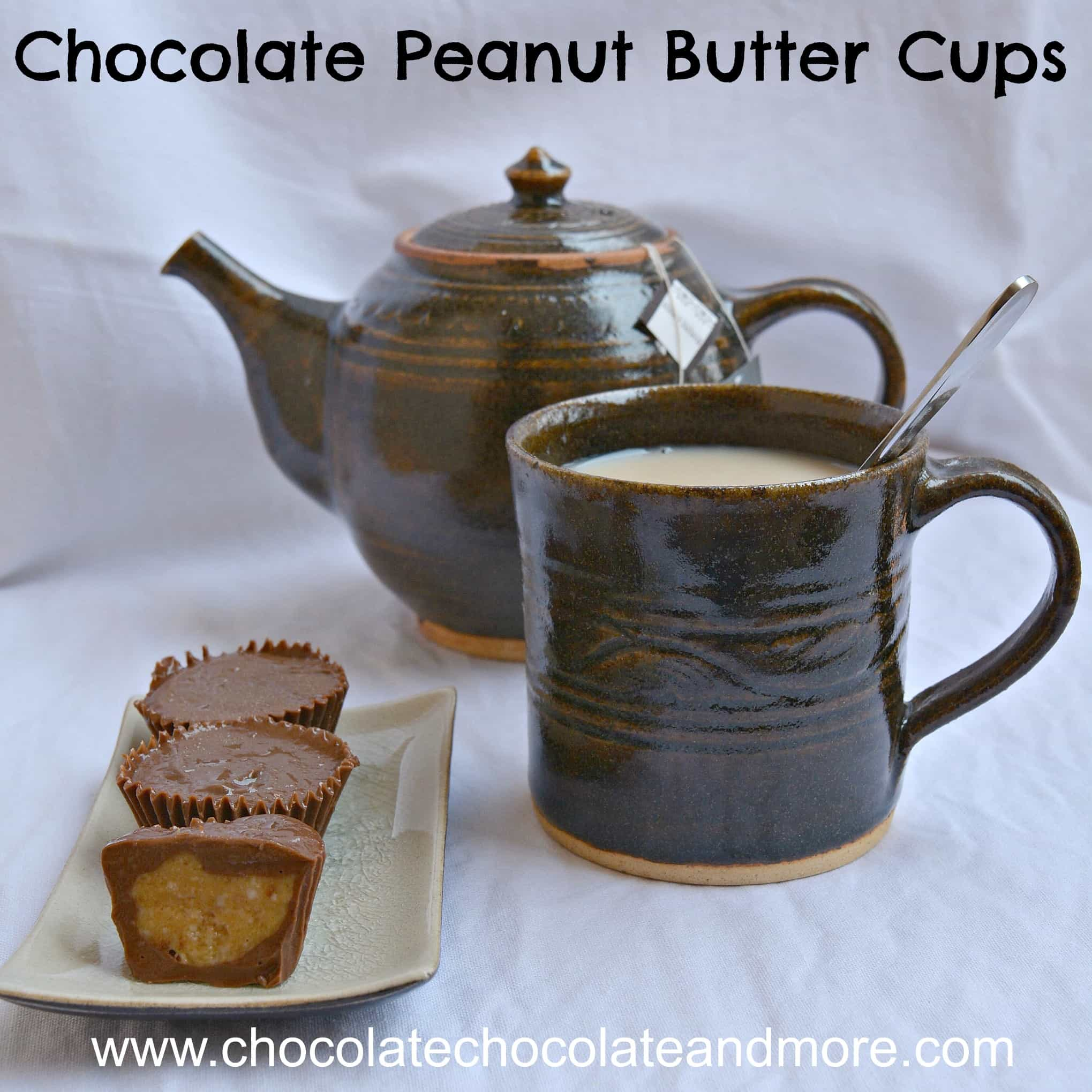 Peanut Butter Cups Tea Square
