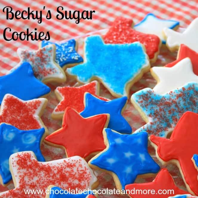 Becky's Sugar Cookies