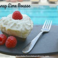 Gingersnap Lime Mousse