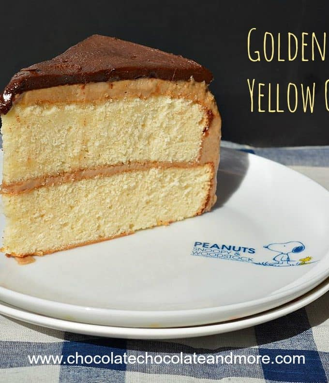 Golden Yellow Cake