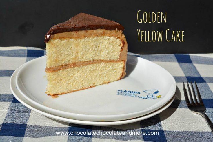 Golden Yellow Cake