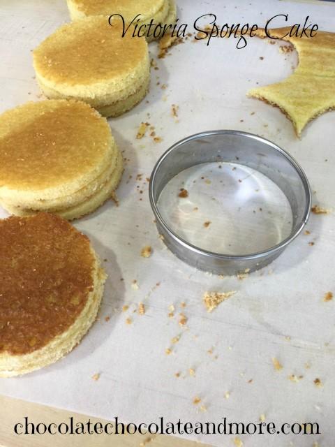 Rectangular Victoria Sponge Cake Recipe