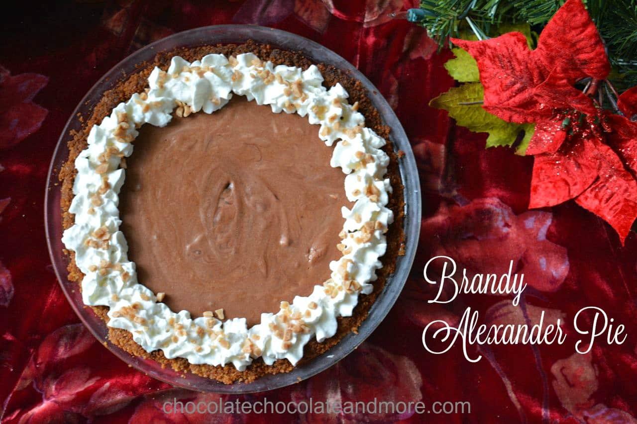 Brandy Alexander Pie