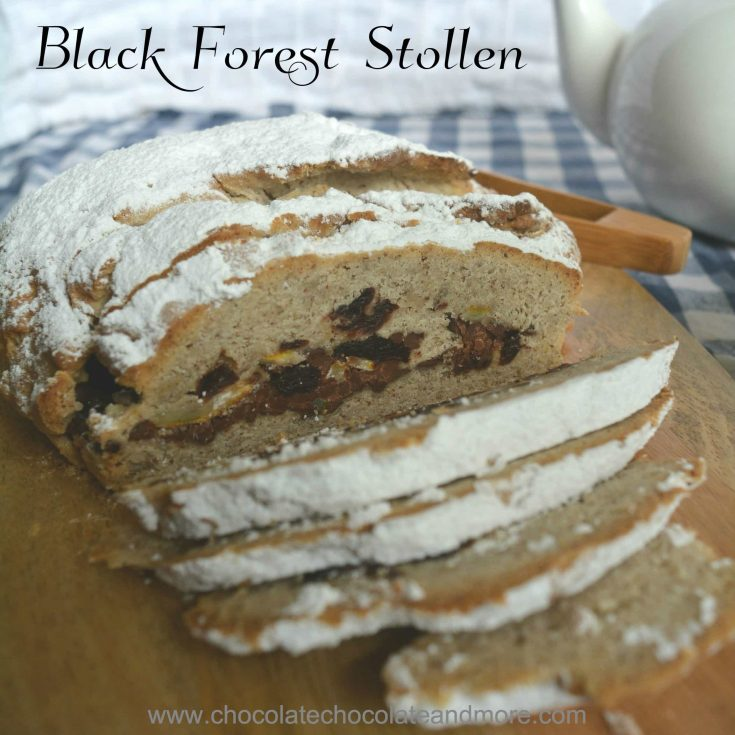 Black Forest Stollen