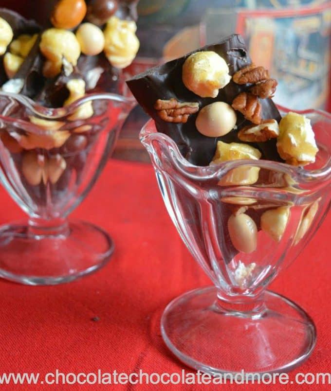 Mocha Caramel Popcorn Bark