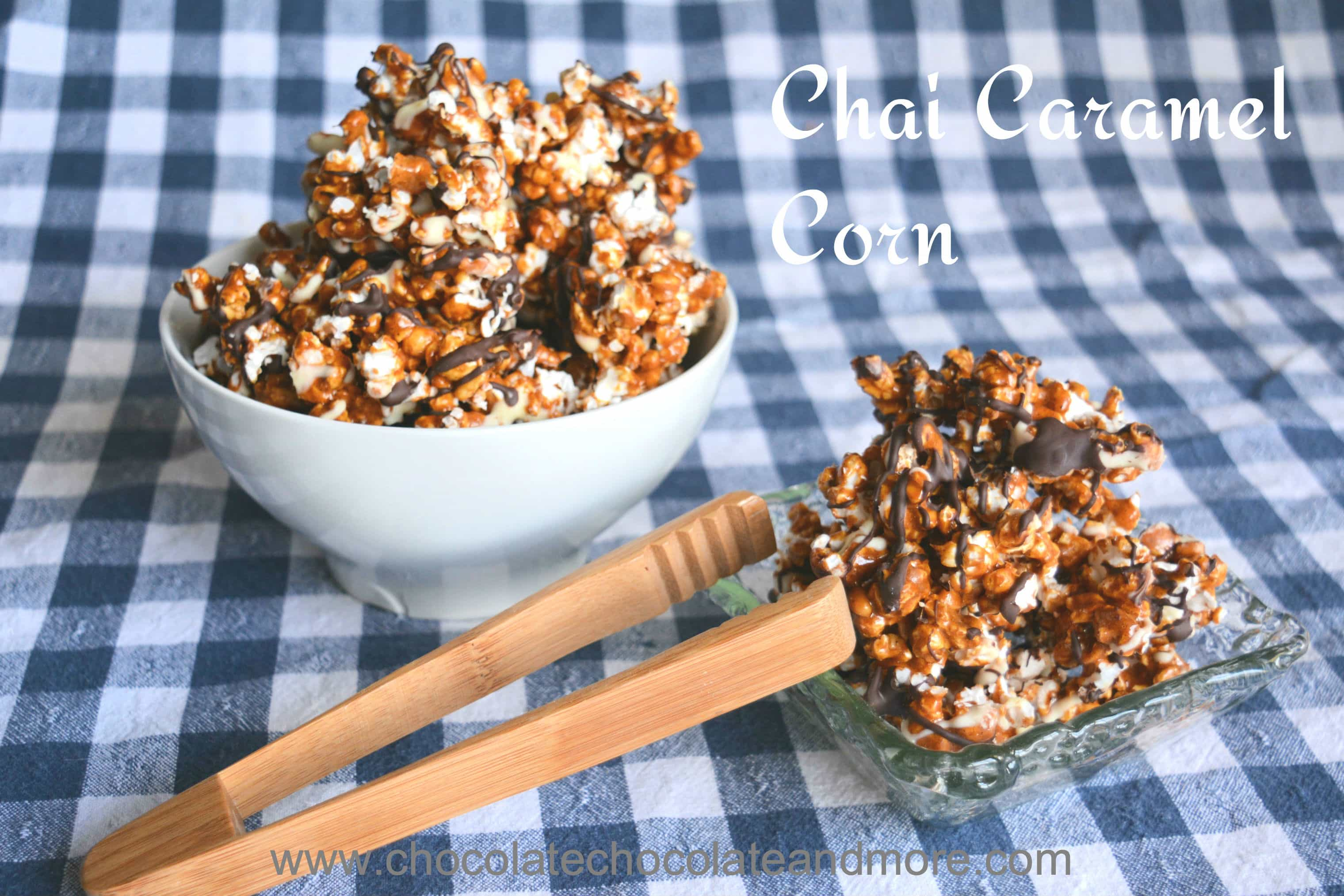 Chai Caramel Corn