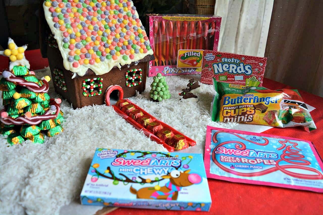 Chocolate Gingerbread House Nestle Products