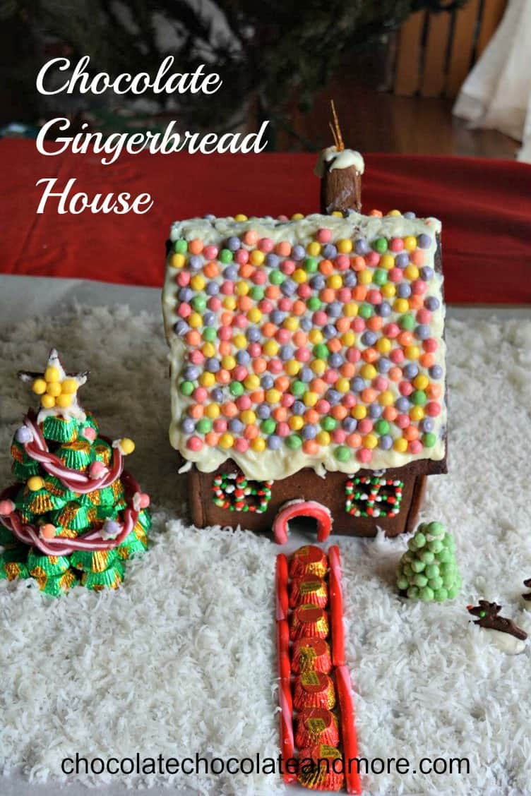 Chocolate Gingerbread House Chocolate Chocolate And More
