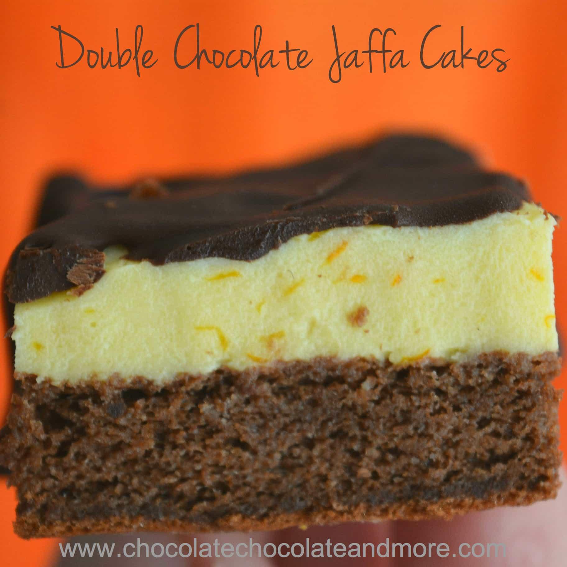 Double Chocolate Jaffa Cakes