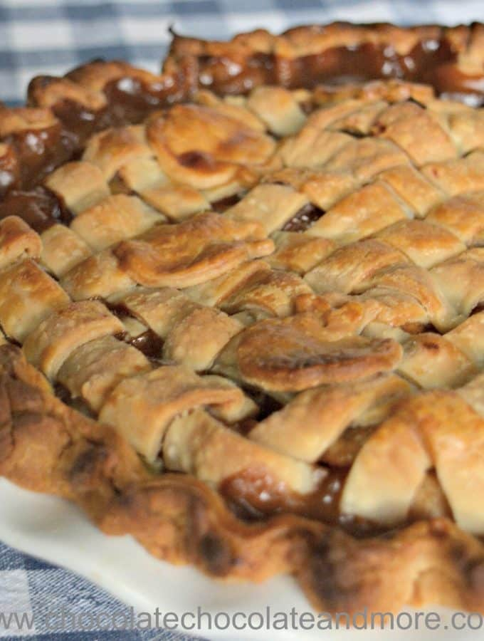 Kentucky Cider Apple Pie