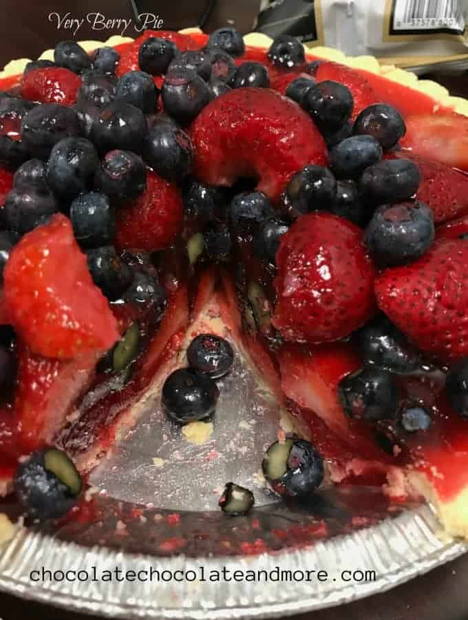 Refrigerator Berry Pie
