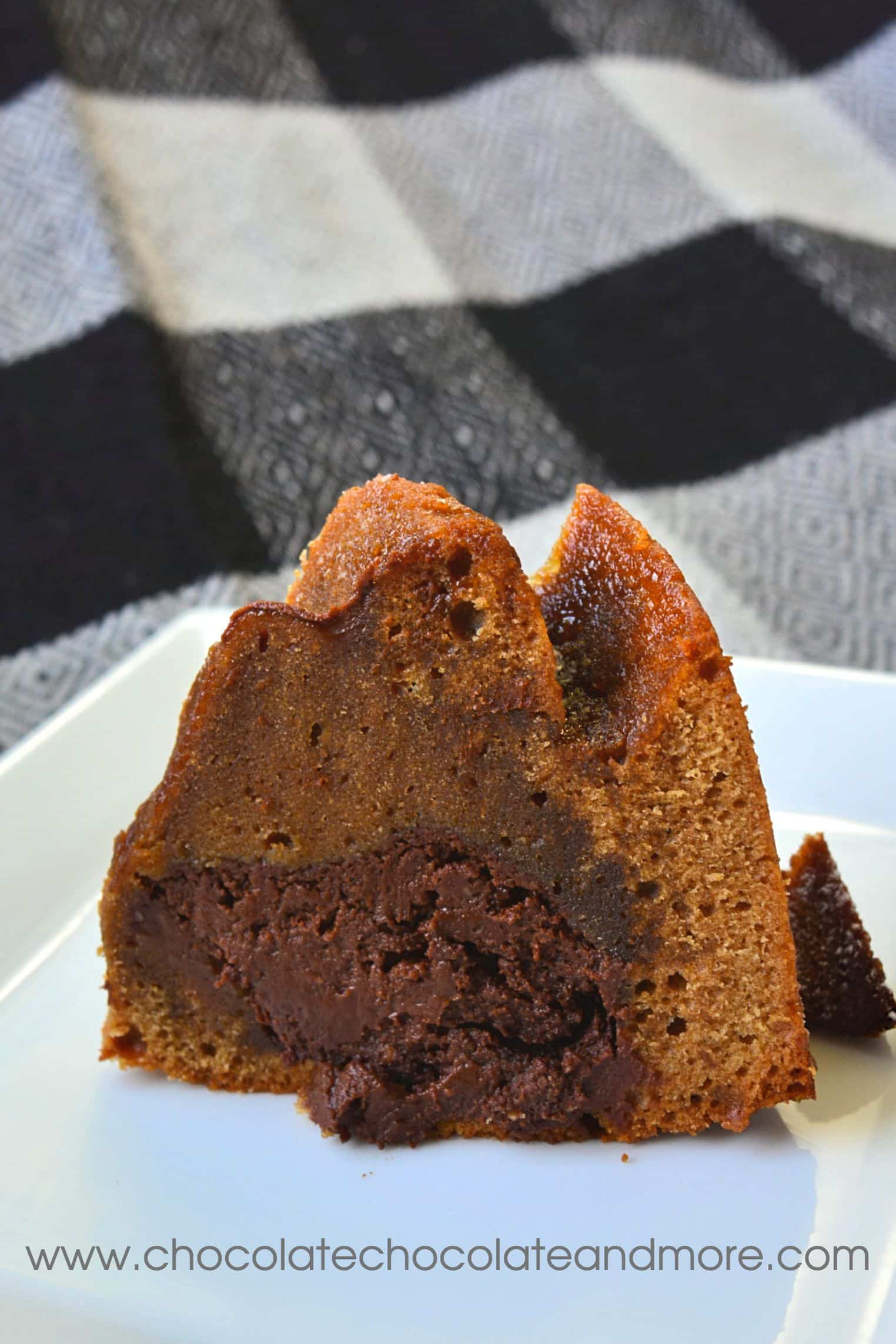 Cappucino Fudge Bundt Cake