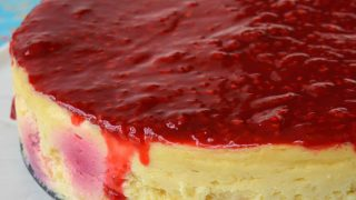 Raspberry Lemon Cheesecake