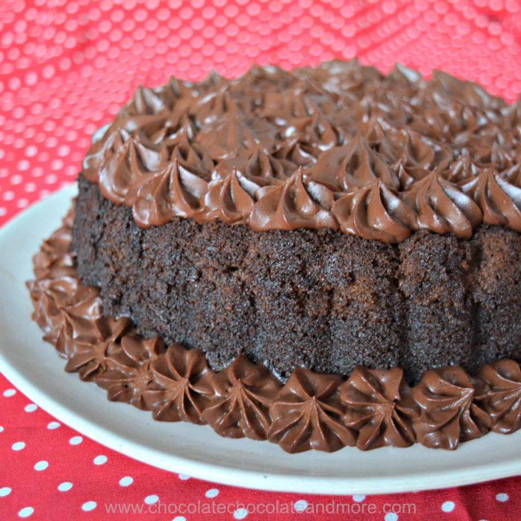 Chocolate Mousse Rum Cake