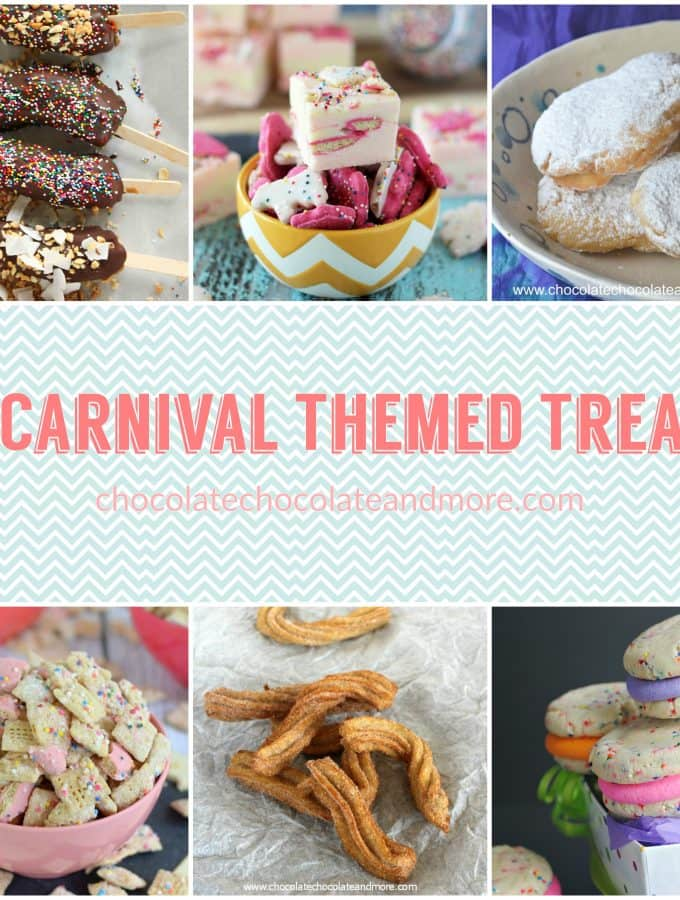 15 carnival themed recipes chocolate chocolate and more