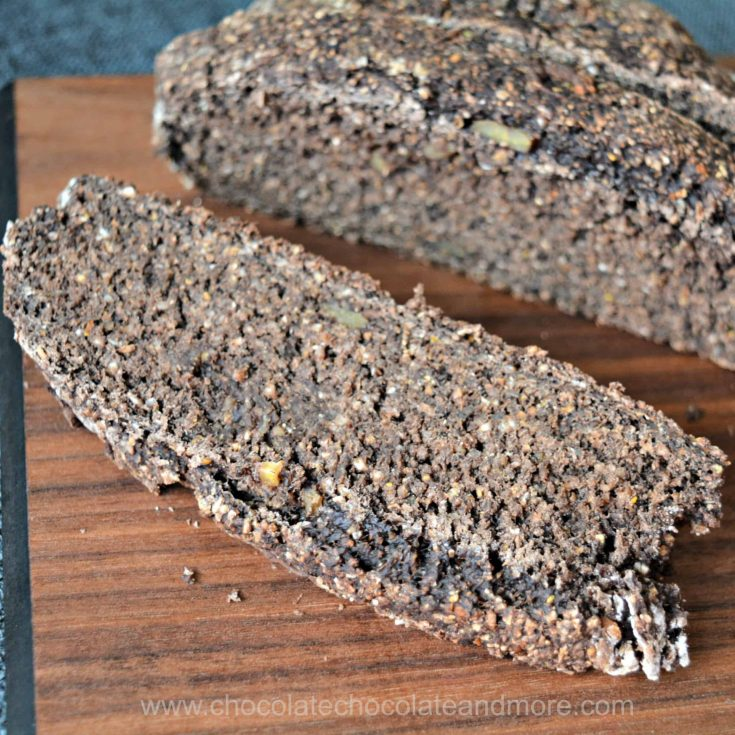 Dense Pumpernickel Bread