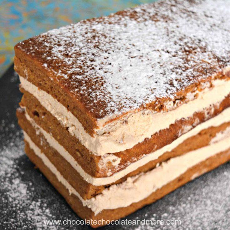 Kahlua Cream Pumpkin Spice Torte