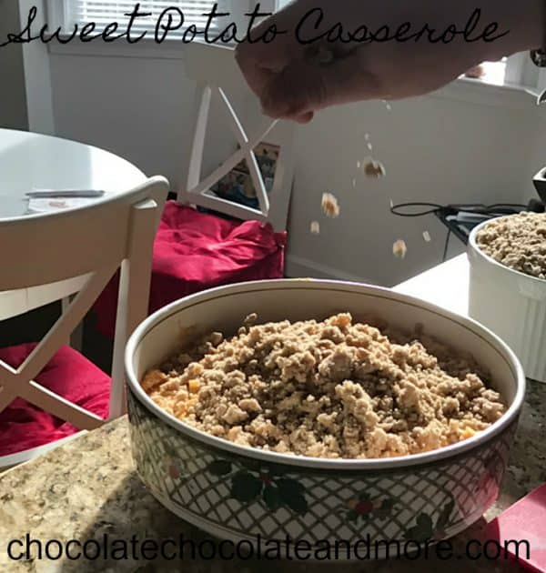 Praline Sweet Potato Casserole